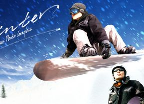 初学者滑雪全攻略保持平衡横向蹬坡