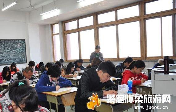 北京地区导游人员资格考试怀柔考点圆满结束