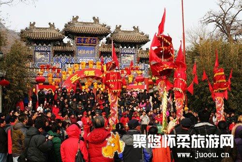 2014年第二十届北京怀柔红螺寺庙会、2014春节活动推荐