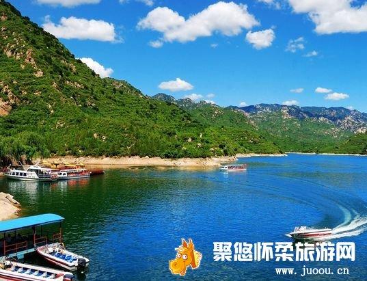 2014北京怀柔青龙峡景区消夏避暑戏水节开幕