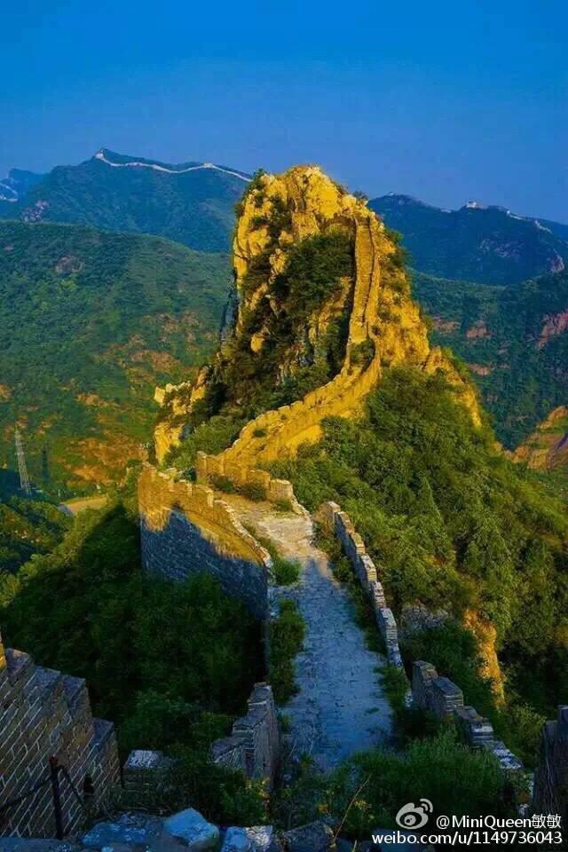 北京响水湖长城风景区