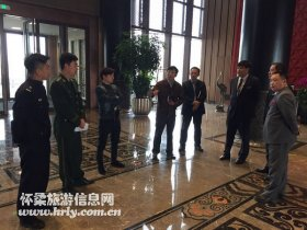 """区旅游委突出""""三个重点""""开展旅游安全联合检查"""