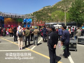青龙峡20年纪念活动加强安保力量